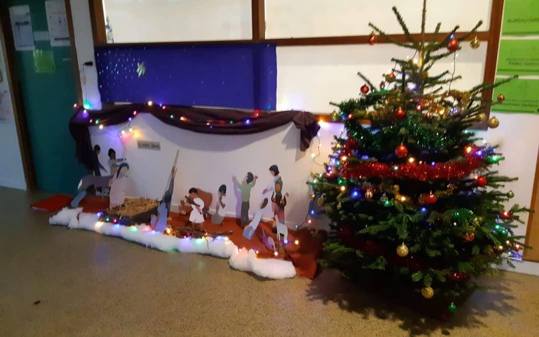 Une magnifique crèche de Noël !