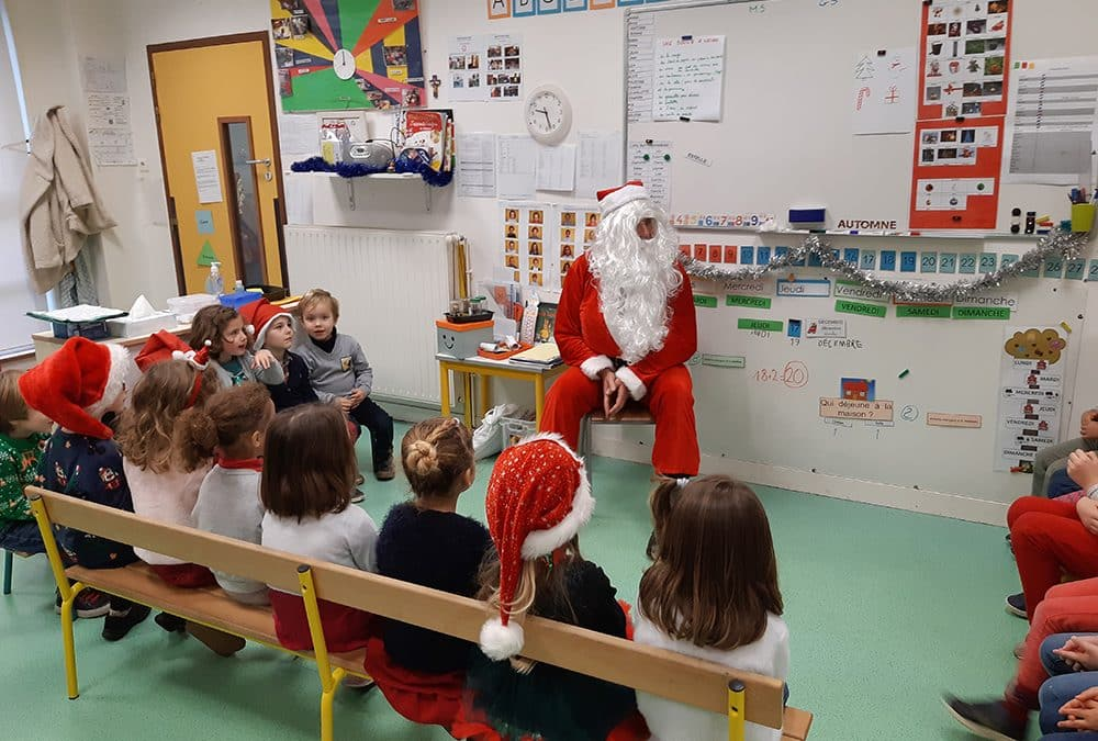 Noël à l'école Notre Dame de Kerbonne !
