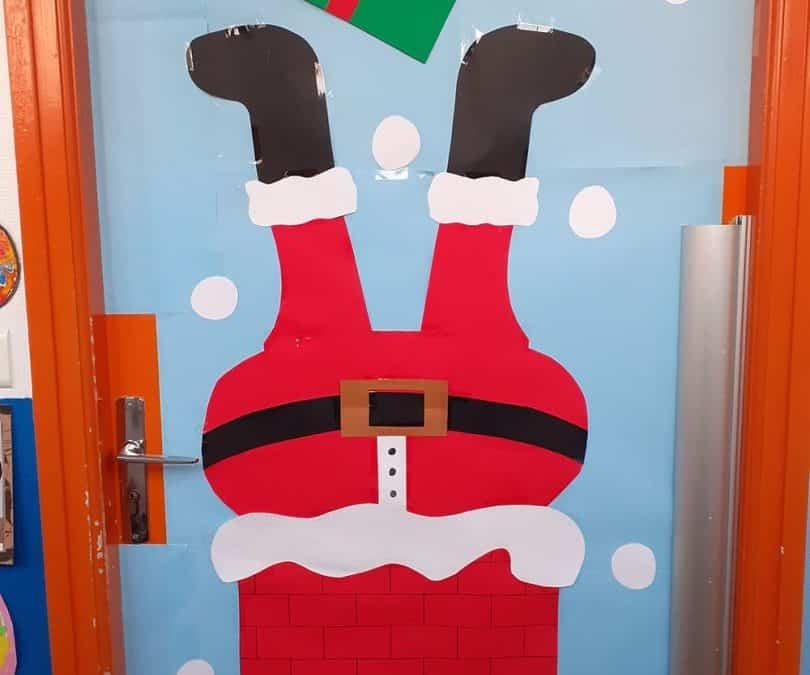 Les décorations de Noël à l'école Notre Dame de Kerbonne !