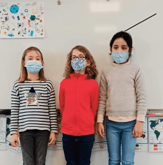 Poésie sur la propreté réalisée par les élèves de CE2