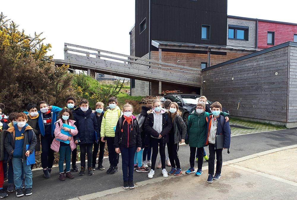 Visite de l'éco quartier de la Fontaine Margot pour les élèves de CM1 – CM2 !
