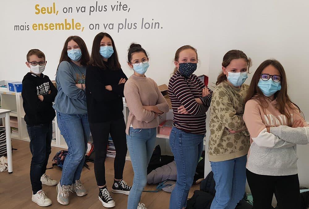 Nouvelle formation de médiateurs scolaires au collège Javouhey