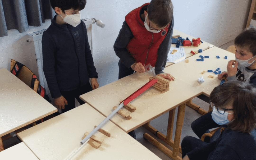 Une machine de Rube Goldberg par les CM2 !
