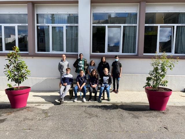 Premier éco-time pour les éco-délégués du collège Javouhey !