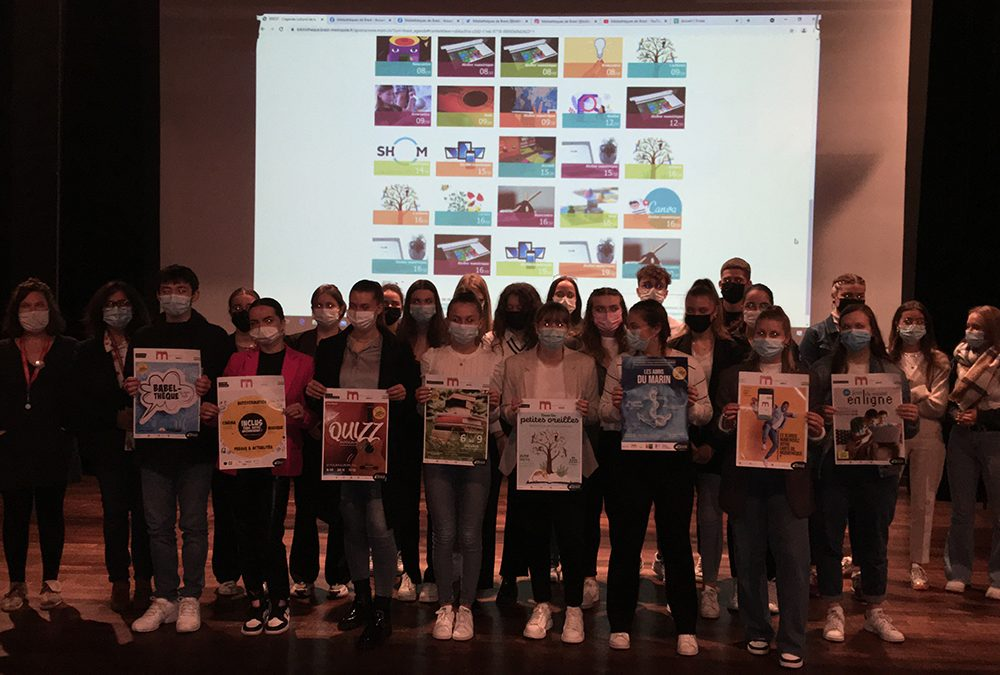 Campagne de Communication pour le Réseau Médiathèques de Brest – Les étudiants parlent aux étudiants !