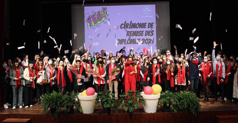 Cérémonie de remise des diplômes 2021 !